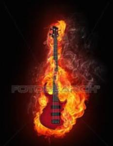basso fiamme